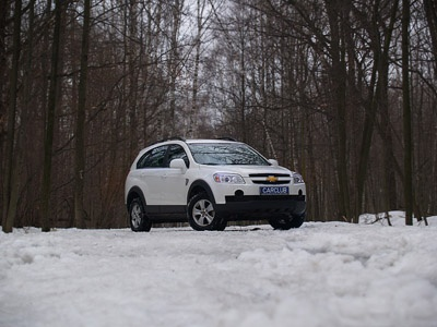 Chevrolet Captiva. Фото Леонида Павлова с сайта carclub.ru