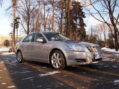 Cadillac BLS. Фотос сайта CarClub.ru