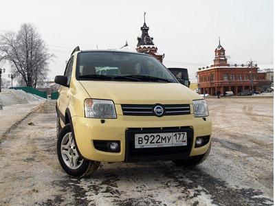 Fiat Panda. Фото Иванова Сергея с сайта Auto.Lenta.ru