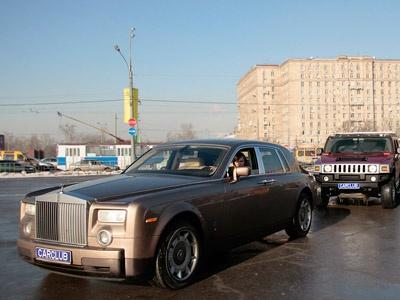 Rolls-Royce Phantom. Фото с сайта CarClub.ru