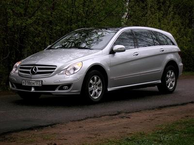 Mercedes-Benz R класса. Фото Дмитрия Ларченко и Александра Воробьева с сайта Lenta.ru