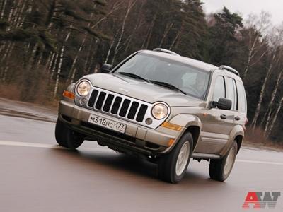 Jeep Cherokee. Фото Пётра Надеждина и Александра Азанова с сайта AutoWeek.ru