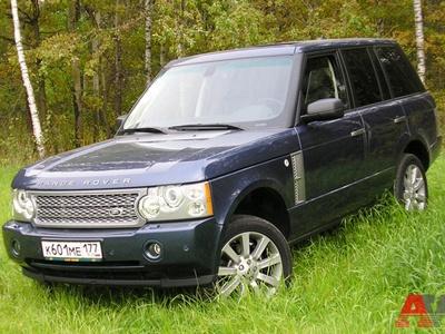 Range Rover Supercharged. Фото Николая Лукина с сайта AutoWeek.ru