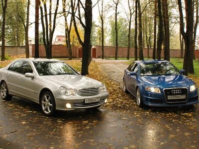 Audi & Mercedes. Фото c сайта AutoWeek.ru