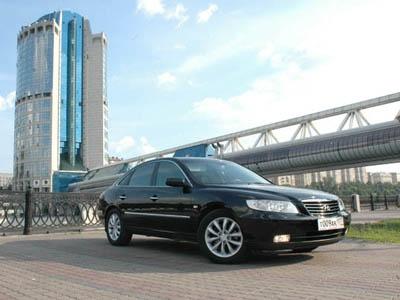 Hyundai Grandeur. Фото Петра Надеждина с сайта AutoWeek.ru