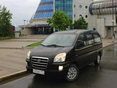Hyundai H-1. Фото Петра Надеждина с сайта AutoWeek.ru