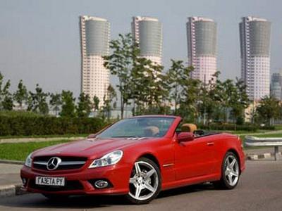 Mercedes-Benz SL 500. Фото Кирилла Лебедева, с сайта gazeta.ru.