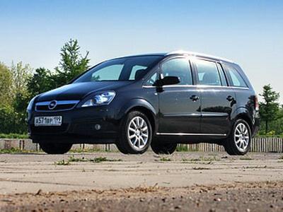 Opel Zafira. Фото Ленты.Ру.