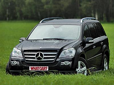 Mercedes-Benz GL 500. Фото с сайта whatcar.ru.