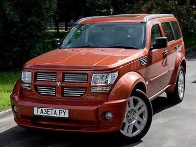 Dodge Nitro R/T. Фото Кирилла Лебедева с сайта gazeta.ru.
