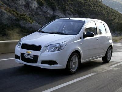 Chevrolet Aveo. Фото Chevrolet.