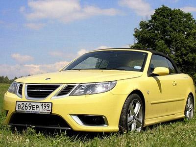 Saab 9-3 Convertible. Фото с сайта autonews.ru.