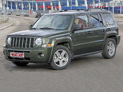 Jeep Liberty. Фото с сайта whatcar.ru.