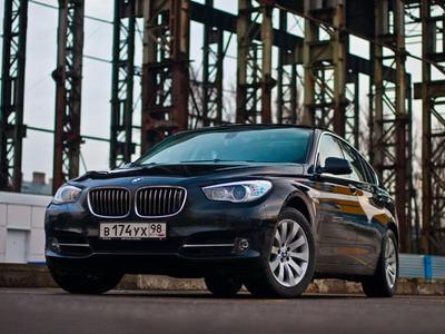 BMW 5 GT. Фото с сайта kolesa.ru