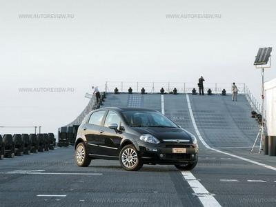 Fiat Punto Evo. Фото Олега Растегаева с сайта autoreview.ru