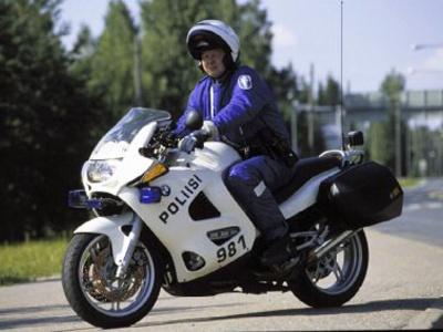 Дорожная полиция Финляндии. Фото с сайта mpmaailma.fi