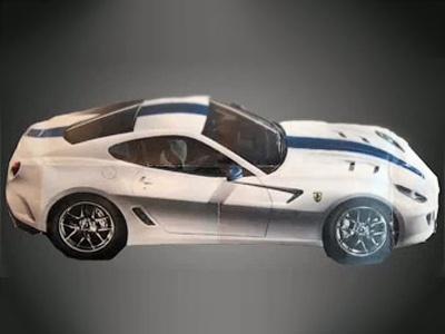 Ferrari 599 GTO. Изображение сетевого издания Fast Lane Daily