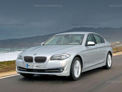 BMW 5 Series. Фото Леонида Голованова и компании BMW с сайта autoreview.ru