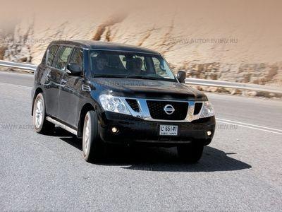 Nissan Patrol. Фото Константина Сорокина и компании Nissan с сайта autoreview.ru