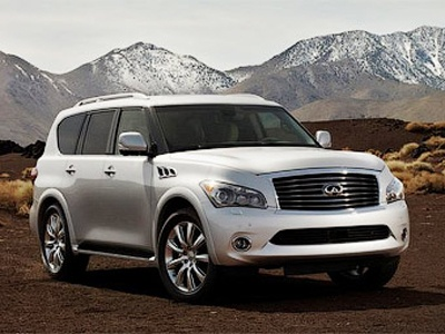Infiniti QX56. Фото с сайта 4wheelsnews.com