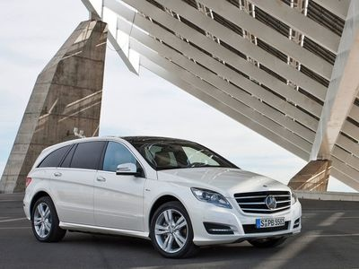 Mercedes-Benz R-Class. Фото Mercedes-Benz