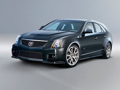 Cadillac CTS-V Sport Wagon. Фото Cadillac