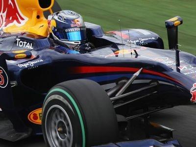 Себастьян Феттель. Фото Red Bull Racing