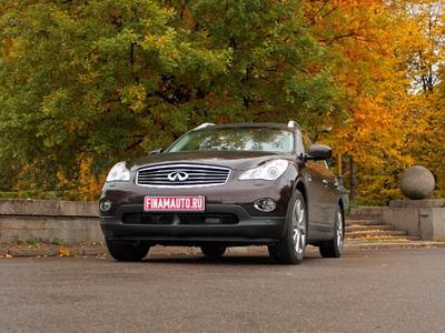 Infinity EX35. Фото с сайта auto.finam.ru