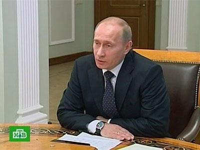 Владимир Путин. Кадр НТВ, архив