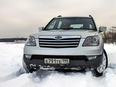 Kia Mohave. Фото Елены Кочуровой с сайта autoweek.ru