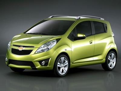 Chevrolet Spark. Фото Chevrolet