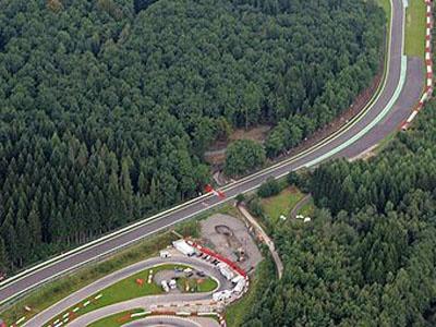 Тоннель около поворота Бланшимон. Фото с официального сайта трассы.