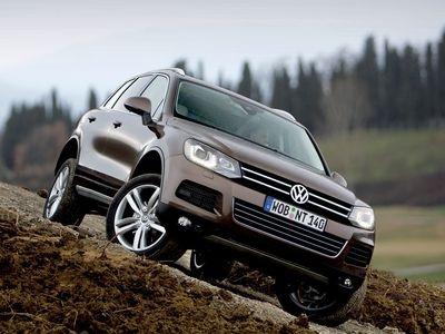 Volkswagen Touareg. Фото Volkswagen