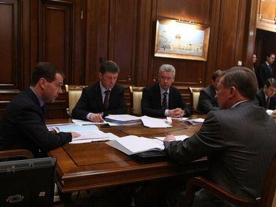 Совещание по вопросам строительства объектов транспортной инфраструктуры. Фото пресс-службы Президента России