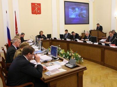 Заседание Правительства Санкт-Петербурга. Фото пресс-службы губернатора Санкт-Петербурга