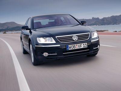Volkswagen Phaeton. Фото Volkswagen