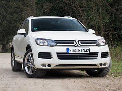 Volkswagen Touareg. Фото Ленты.ру и компании Volkswagen