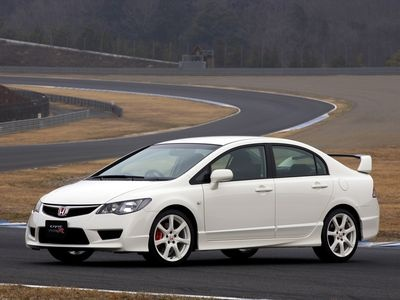 Honda Civic Type-R Sedan. Фото Honda