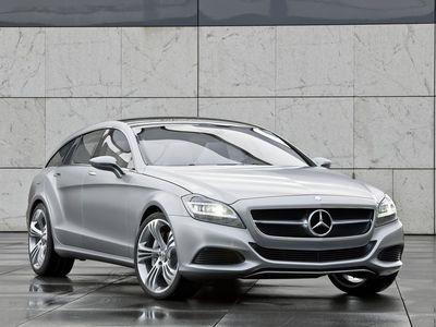 Mercedes-Benz Shooting Break Concept. Фото Mercedes-Benz