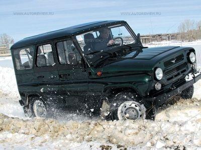УАЗ-469. Фото Леонида Голованова с сайта autoreview.ru