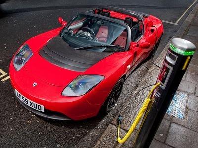 Tesla Roadster. Фото Tesla