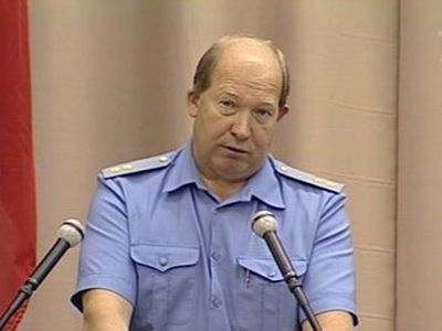 Виктор Кирьянов. Кадр Первого канала, архив