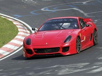 Ferrari 599XX. Фото Ferrari