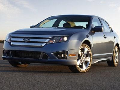 Ford Fusion 2010 для рынка США. Фото Ford