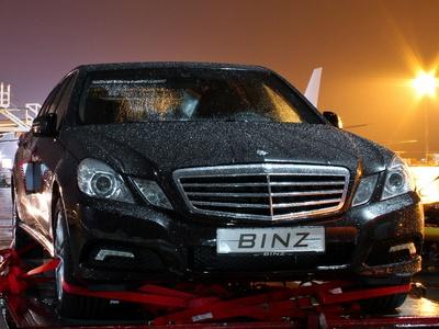 Binz Mercedes-Benz E-Class Limousine. Фото Binz