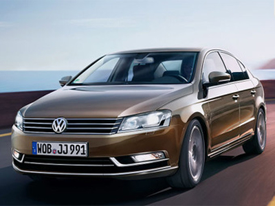 Один из вариантов дизайна нового VW Passat. Иллюстрация Autobild