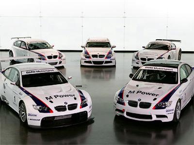 Гоночные автомобили BMW. Фото с сайта m3post.com