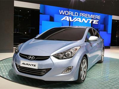 Hyundai Avante. Фото с сайта apex.ru