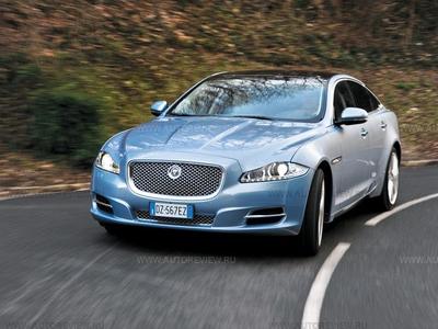 Jaguar XJ. Фото Юрия Ветрова и компании Jaguar с сайта autoreview.ru