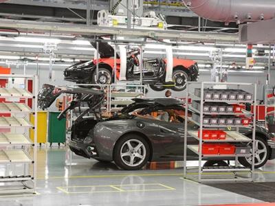 Завод Ferrari в Маранелло. Фото Ferrari